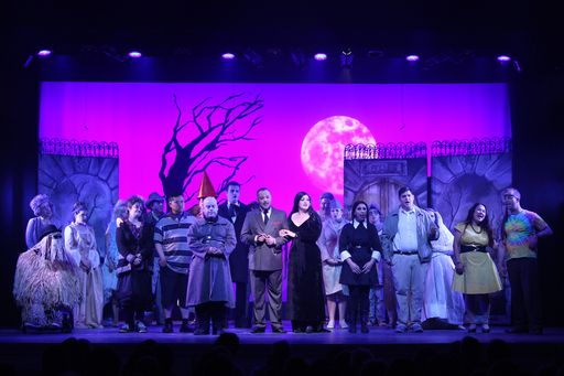 """The Addams Family"" Thrills Sold-Out Audiences"